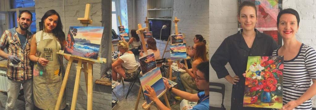 Курсы рисования в Москве