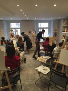 уроки рисования в школе студии