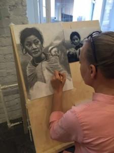 учимся рисовать людей