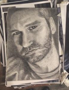 как рисовать портрет поэтапно