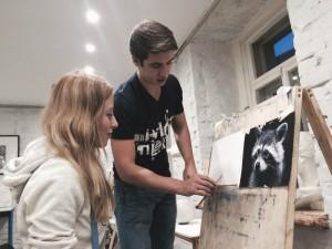 студия рисования матита научит детей