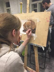 Обучение рисованию малышей
