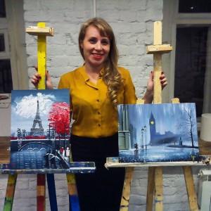 Уроки живописи для начинающих взрослых