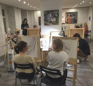 Школа рисования Матита, студия академического рисунка