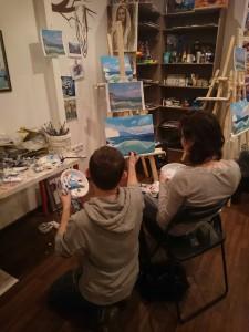 Изо студия для детей Москва