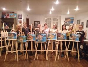 Уроки живописи маслом для начинающих взрослых и детей