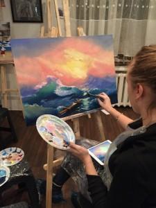 Уроки по живописи маслом для начинающих