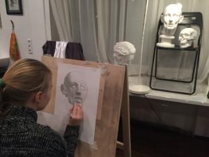 Курсы академического рисунка в Москве