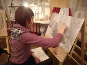 Школа рисования в Москве, обучение академическому рисунку