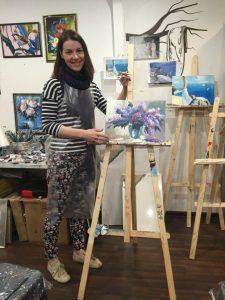 Обучение живописи маслом в Москве
