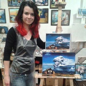 Масляная живопись для начинающих в Москве
