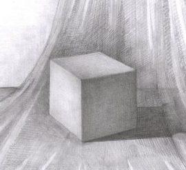 академический рисунок тени