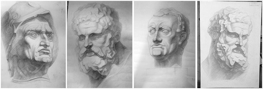 рисование для начинающих карандашом поэтапно