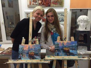 Студия живописи в Москве Арт Матита