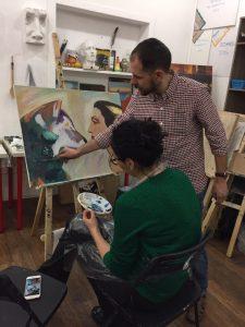 мастер класс по рисованию гуашью
