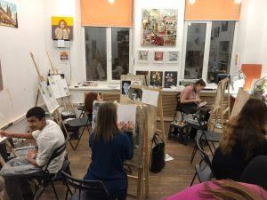Обучение рисунку и живописи в Москве