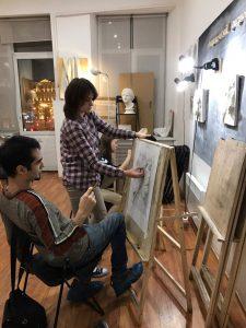 Обучение в Москве начинающих художников