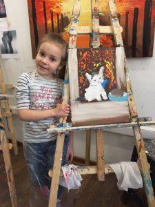 уроки рисования для детей 7 лет