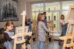 Обучение рисованию в Москве детей и взрослых
