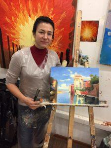 Обучение рисованию маслом детей и взрослых в Москве