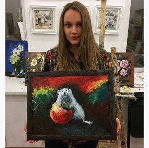 уроки живописи акварелью для начинающих