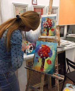 уроки рисования гуашью для детей